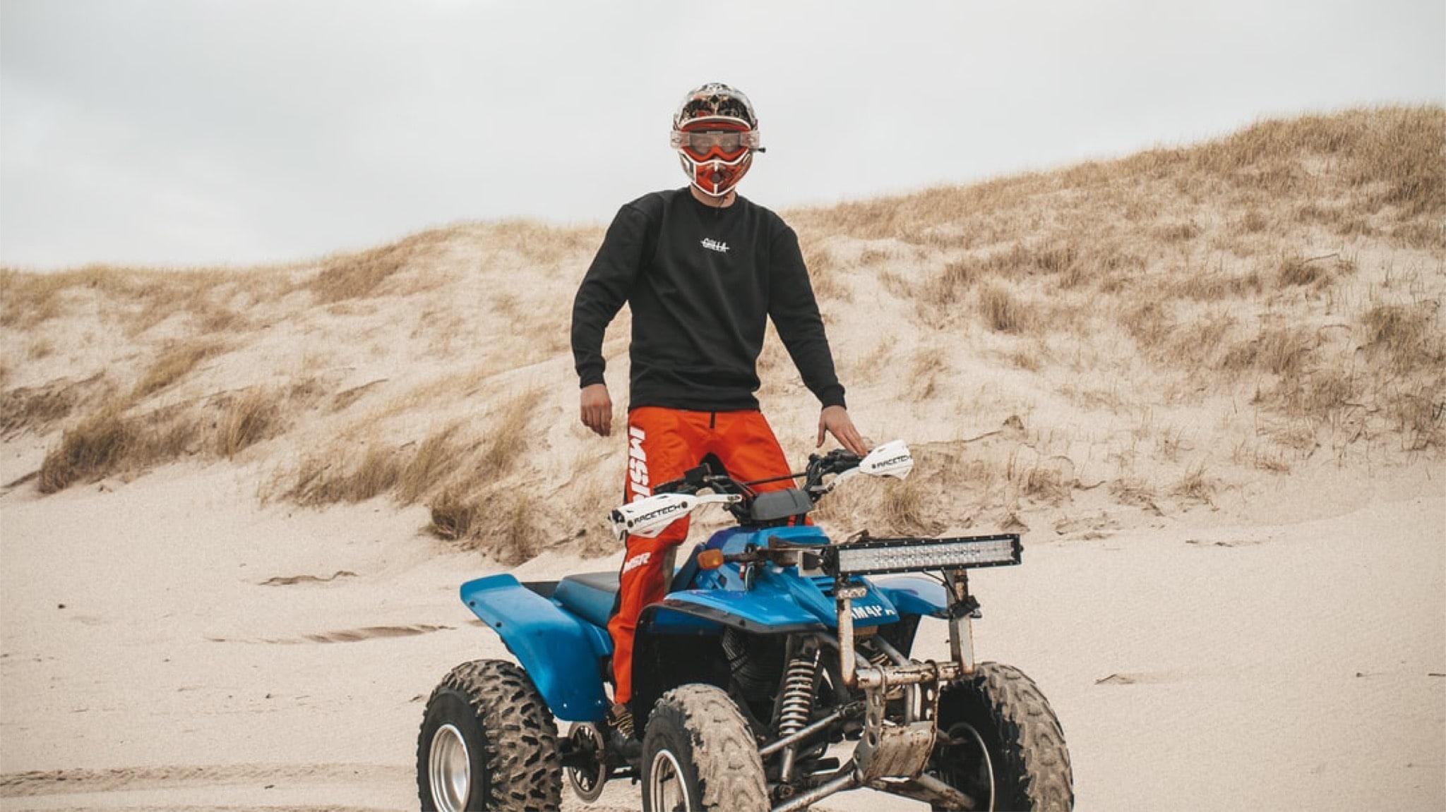 Passeio de Moto 4 para descobrir o interior do Algarve