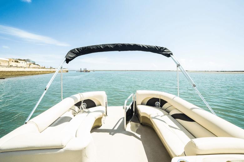 Passeiode catamarã privado na Ria Formosa.