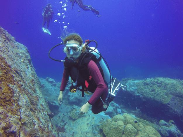Mergulho no Algarve