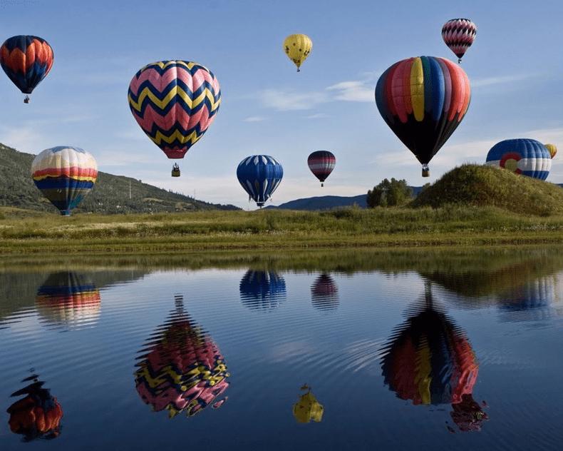 Fantástica experiência de Balão de Ar Quente no Algarve